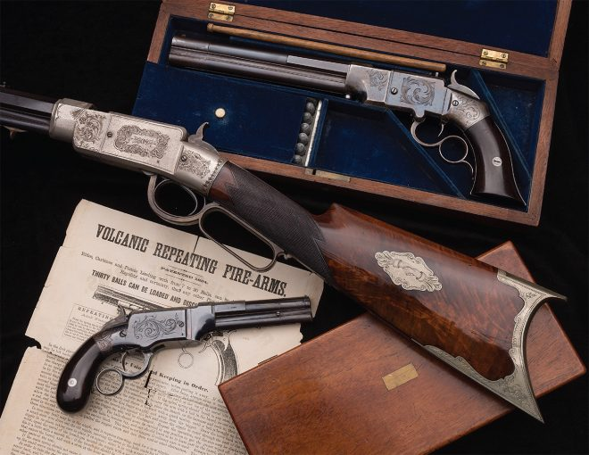 Smith & Wesson Lever Action Rifle - Unicorn Auctioned at RIAC (1)