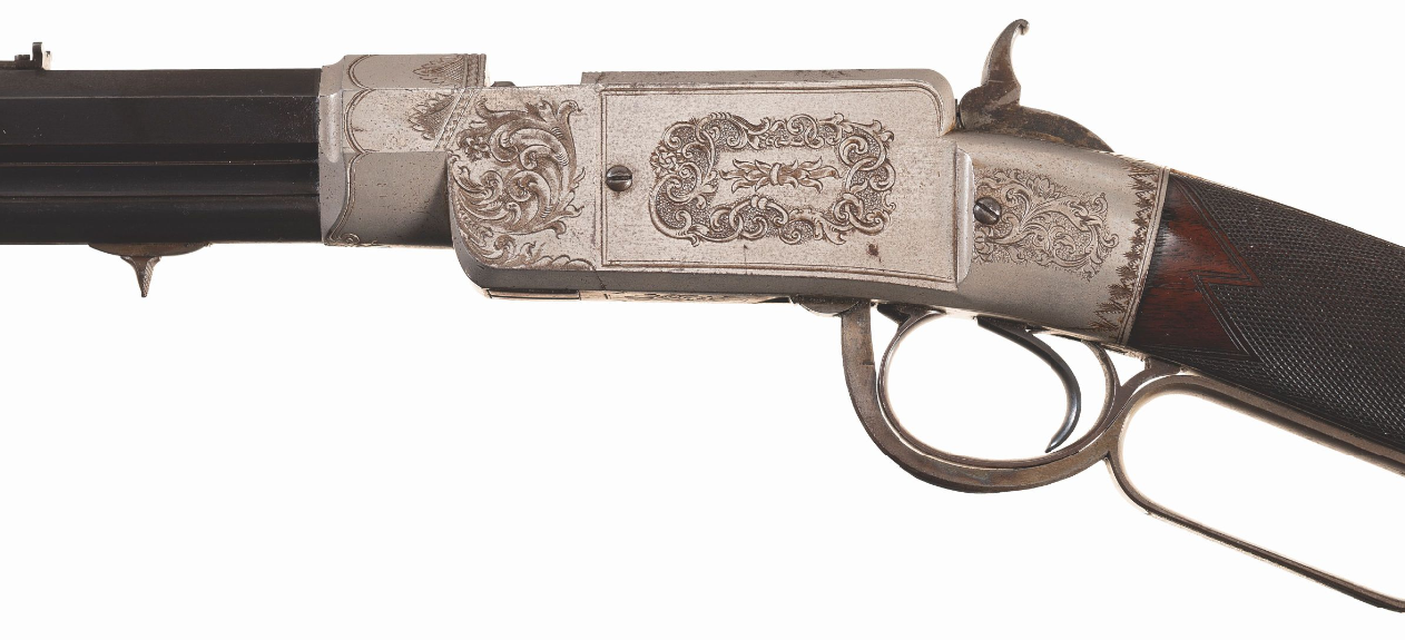 Smith & Wesson Lever Action Rifle - Unicorn Auctioned at RIAC (4)