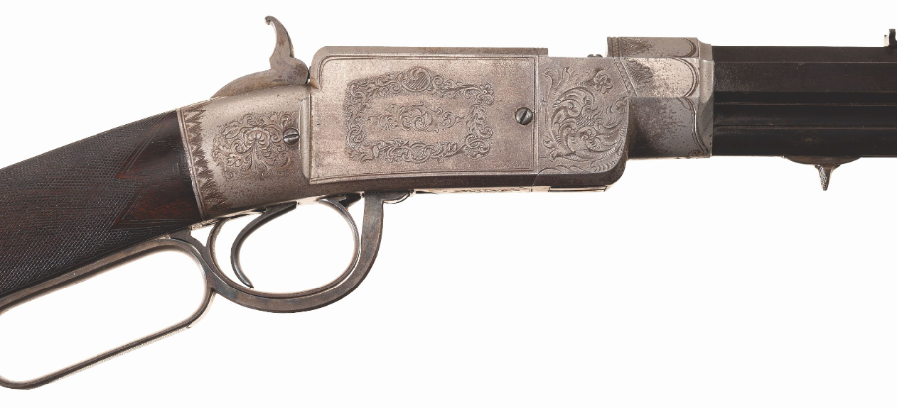 Smith & Wesson Lever Action Rifle - Unicorn Auctioned at RIAC (5)
