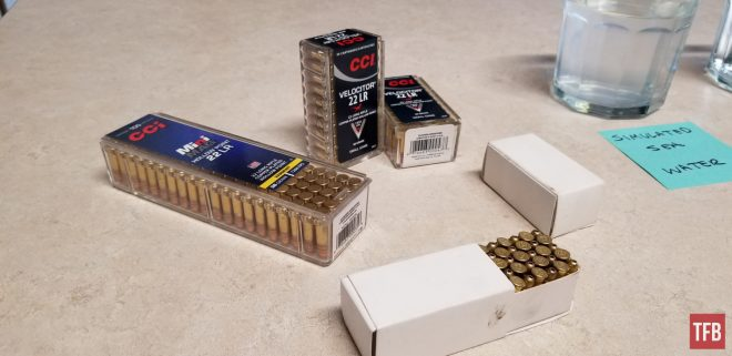 The Rimfire Report: Suns Out Trunks Out! Is your 22LR Pocket Pistol Ammo Waterproof?