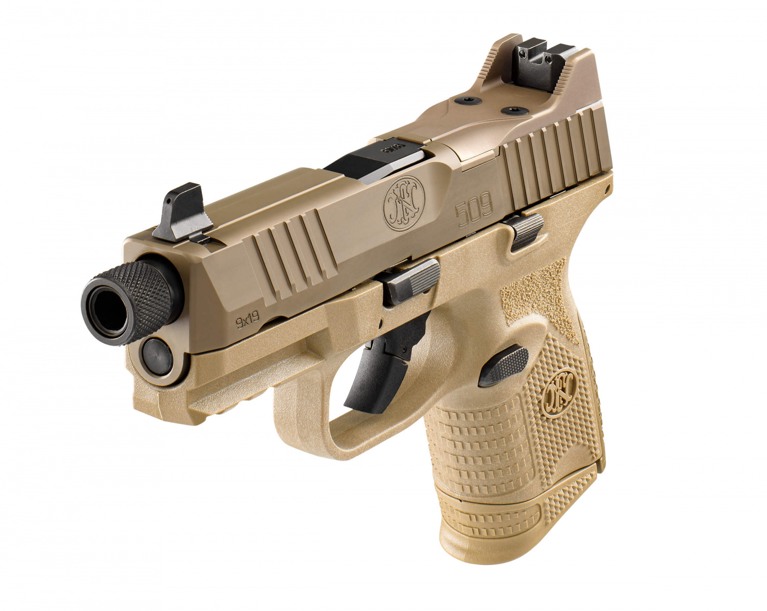 Optics And Suppressor Ready! New FN 509 Compact Tactical Pistol