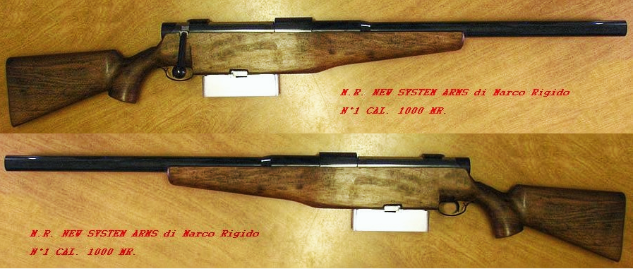 M.R. New System Arms 1,000.
