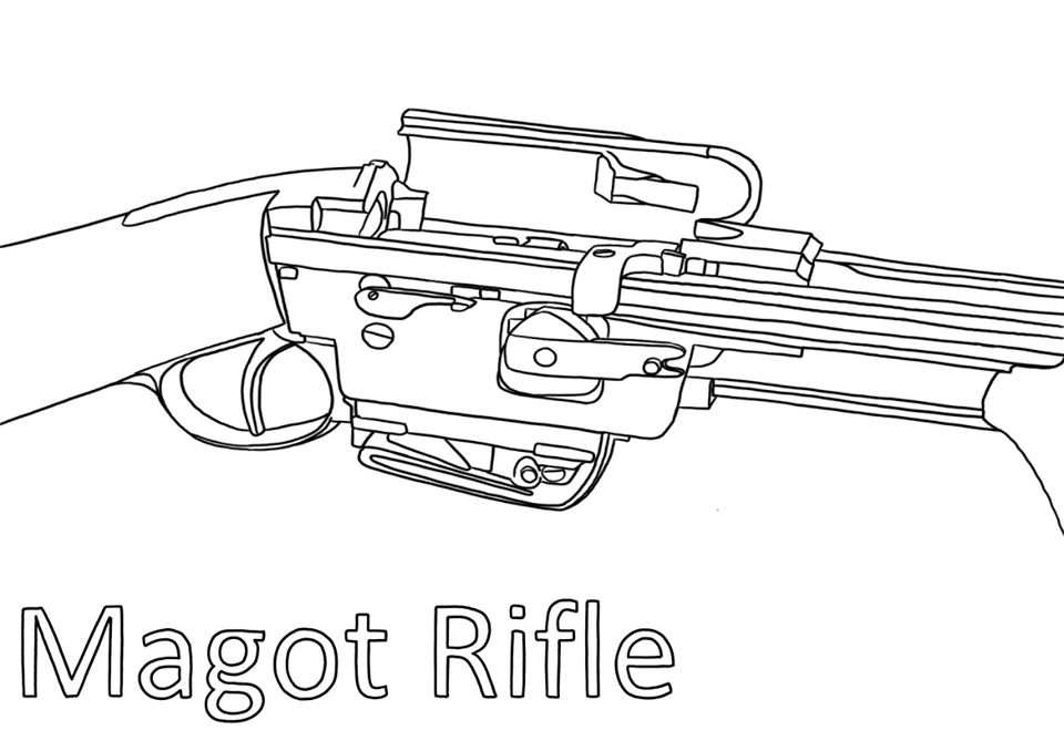 Coloring book from Cody Firearms Museum