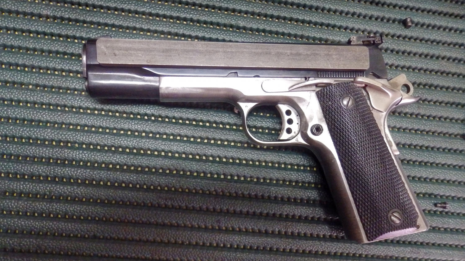 M.R. New System Arms gas retarded 1911.
