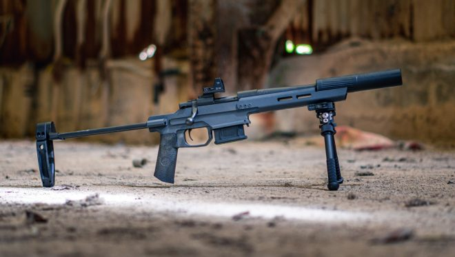 JTAC Industries ELF OWL Howa Mini Action Chassis (1)