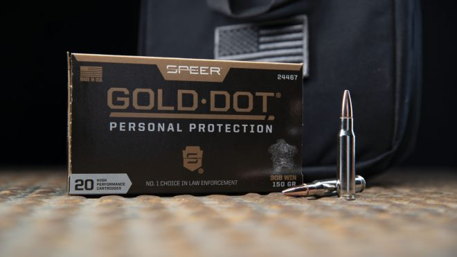 gold speer dot rifle 223