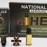 National Police Ammunition Introduces New 9mm SCHP +P HELO Defense Round