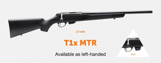 left-handed T1x MTR
