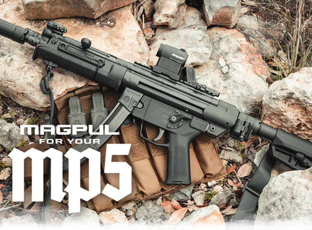 Magpul Releases Enhancements for MP5s and Clones -