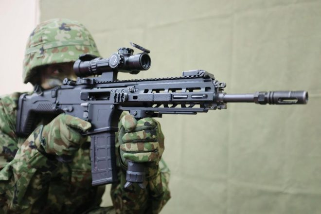 The new Howa Type 20 (Japanese Ministry of Defense)