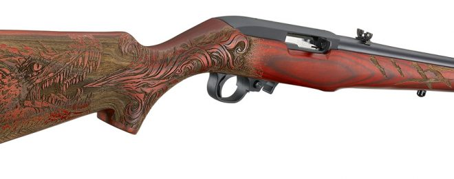 The Ruger 10/22 we aren't sure anyone was asking for: the Red Dragon!