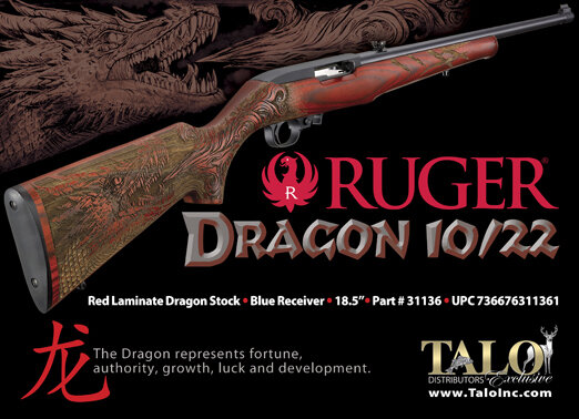 Talo's ad from the original Red Dragon Ruger release in 2014.