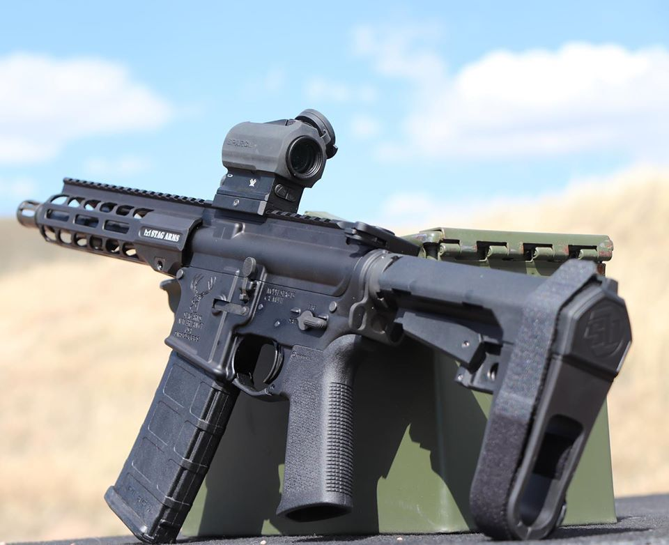 Another view of one of Stag's new 300BLK offerings.