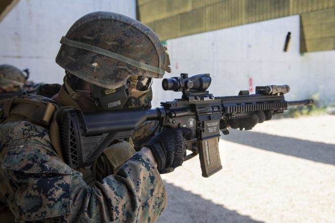 m27 iar hk416 US Marines
