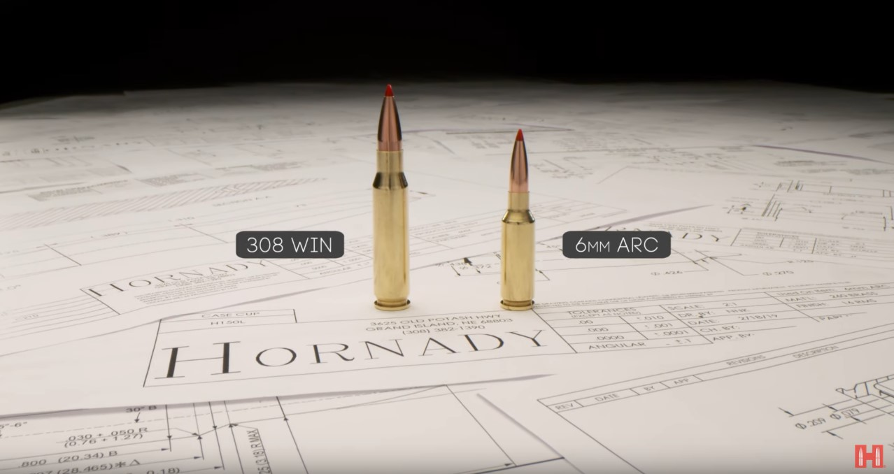 A side-by-side look at one of the 6ARC's main competitors, the venerable .308.