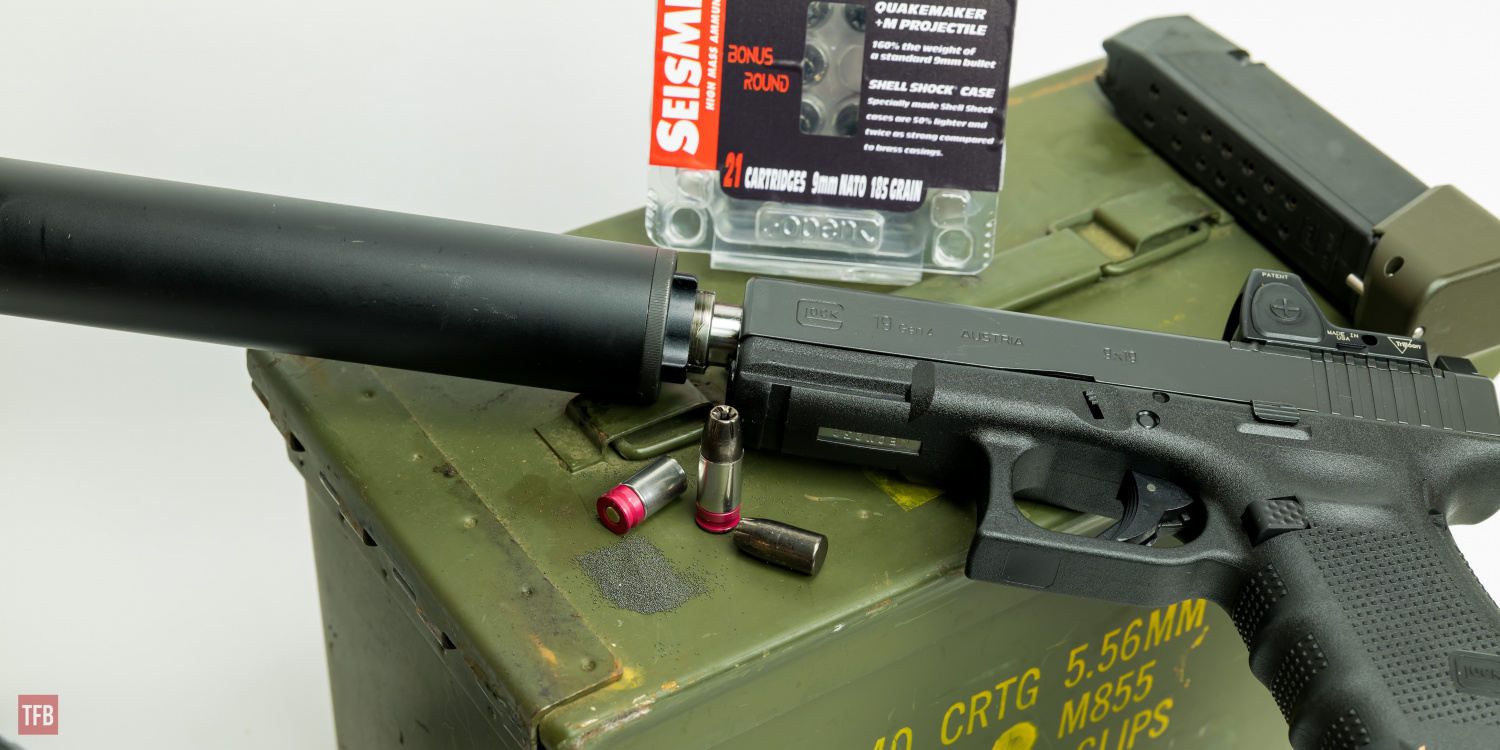 SILENCER SATURDAY #128: Suppressed Super Subsonic 9mm From Seismic Ammo