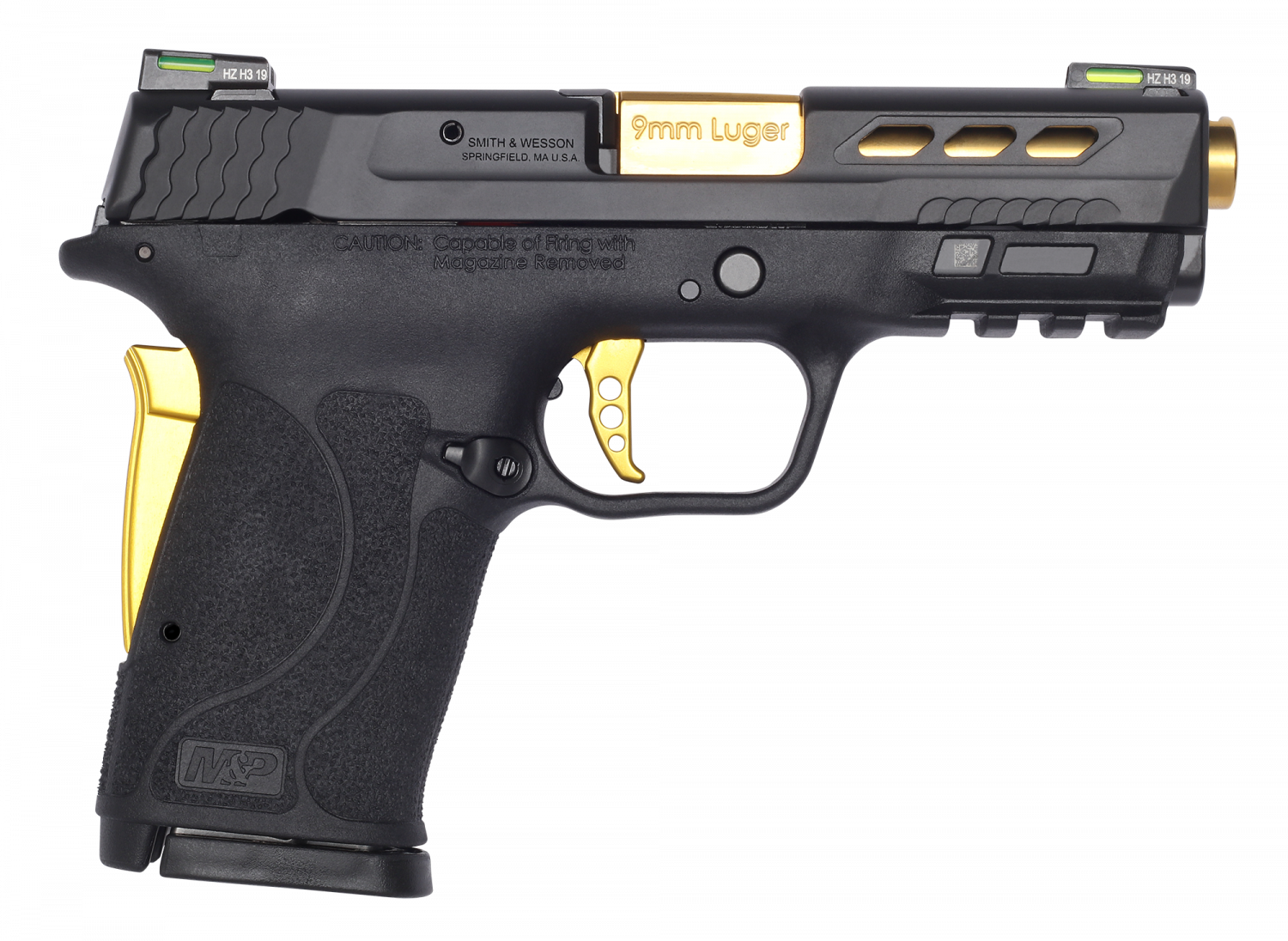 Smith & Wesson Launches Performance Center M&P9 Shield EZ