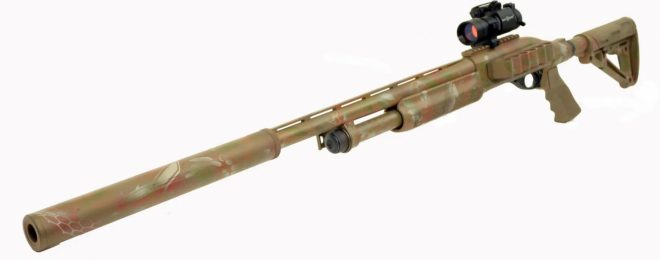 Phoenix Weaponry Introduces Integrally Suppressed Shotgun Line (333)