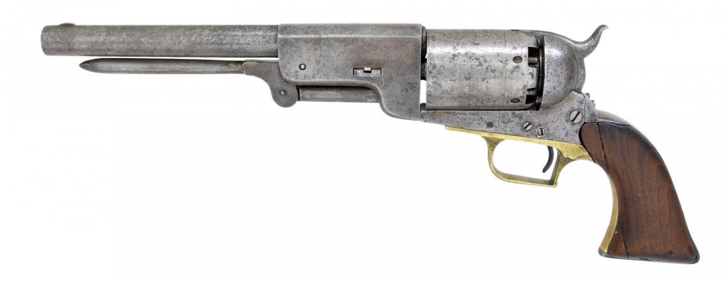 Top 5 Most Expensive Firearms Sold in Spring 2020 POULIN Firearms Auction - Walker (1)