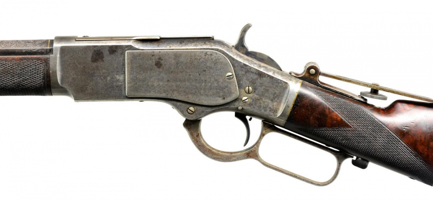 Top 5 Most Expensive Firearms Sold in Spring 2020 POULIN Firearms Auction - Winchester 1873 (4)