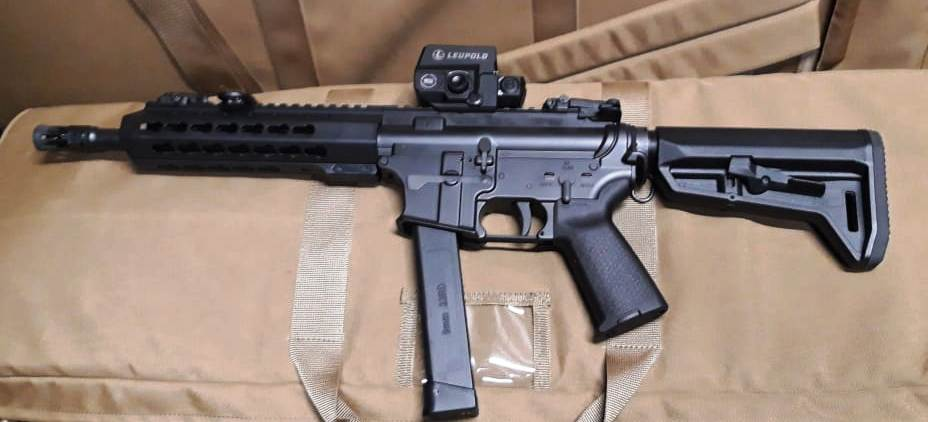 Ukrainian Border Guard Tests Locally Made SMG-15 AR-Pattern Submachine Gun (2)