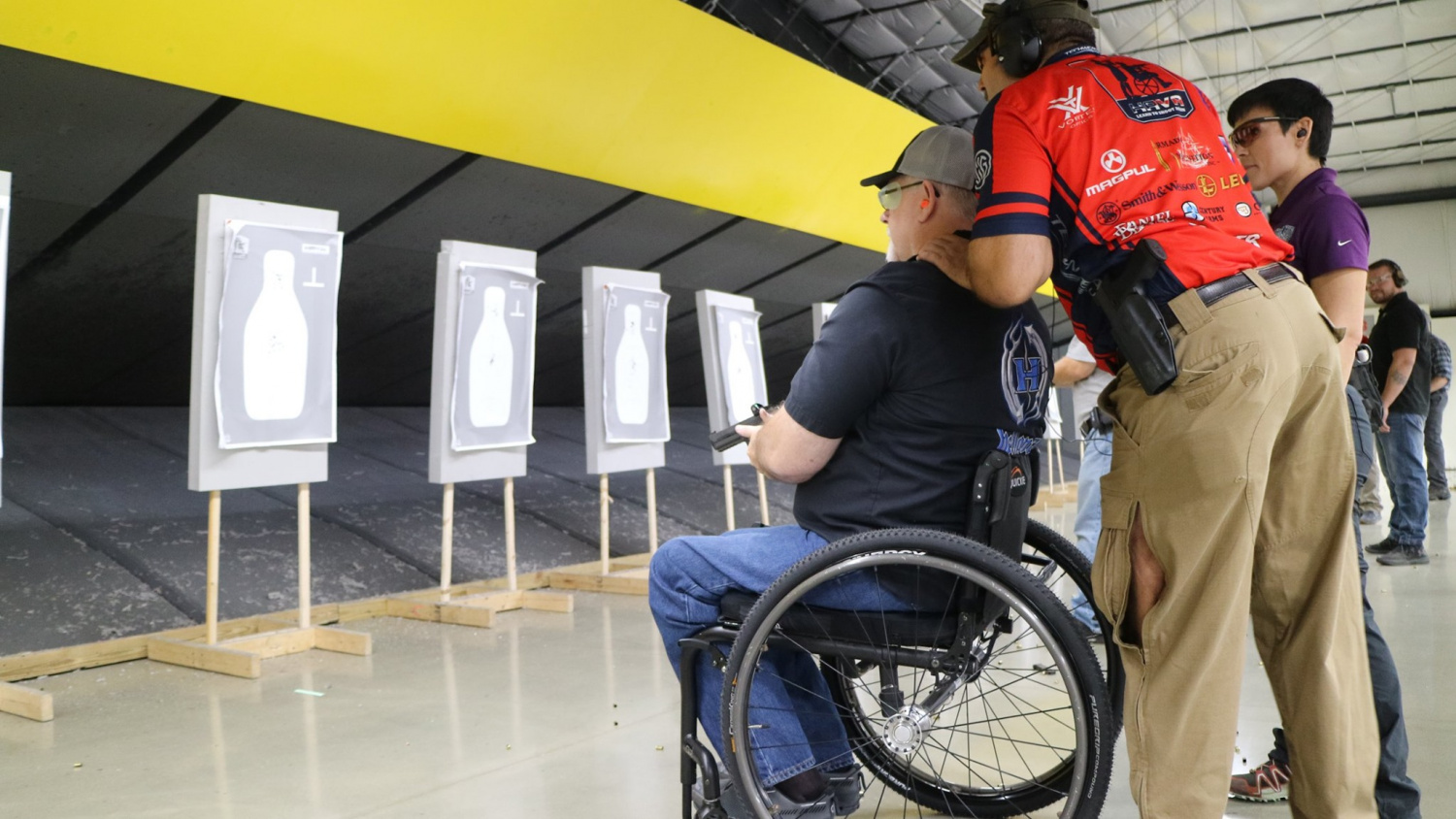 Decreased mobility doesn't stop passionate adaptive shooters.