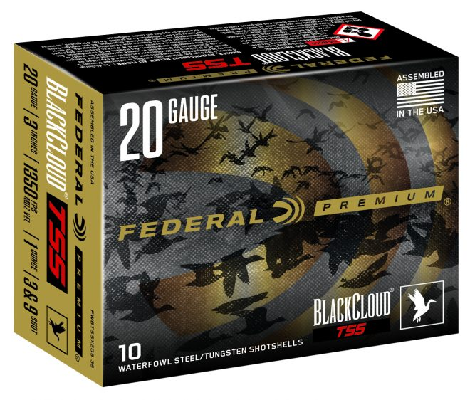 Federal Ammunition announces the Black Cloud TSS 20 gauge.