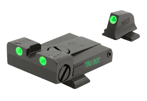 Meprolight's adjustable handgun sights.