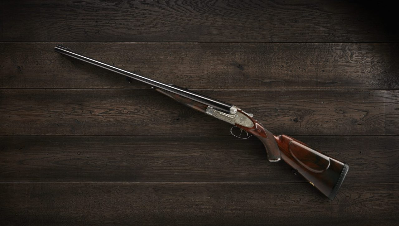 Purdey Double rifle.