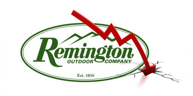 Remington is in financial trouble and facing likely bankruptcy again.
