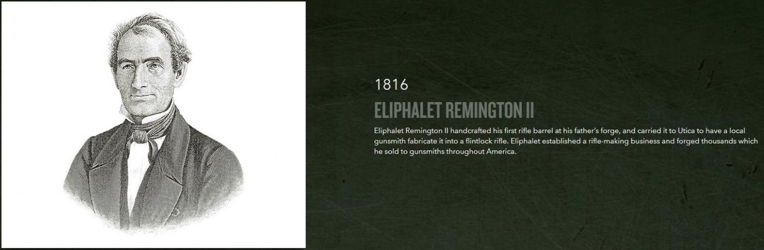 Company founder, Eliphalet Remington, surely must've faced his share of business challenges as well.