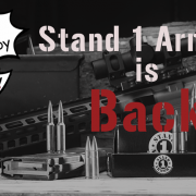 TX-based ammo maker Stand 1 Armory announces their return.