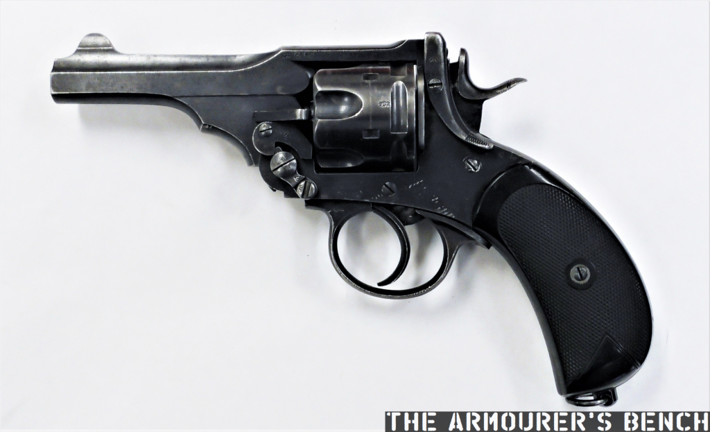 Wheelgun Wednesday: The 'Boer War Model' .455 Webley MkIV