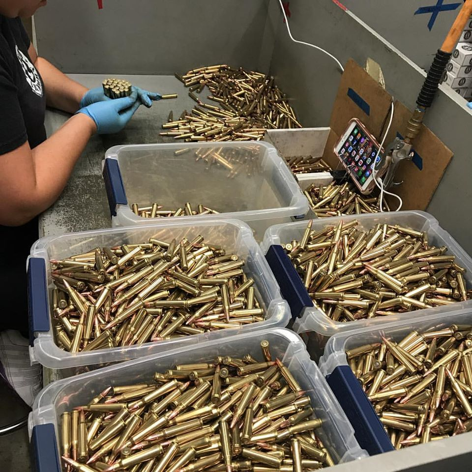 A photo from Stand 1 Armory's pre-shutdown operations.