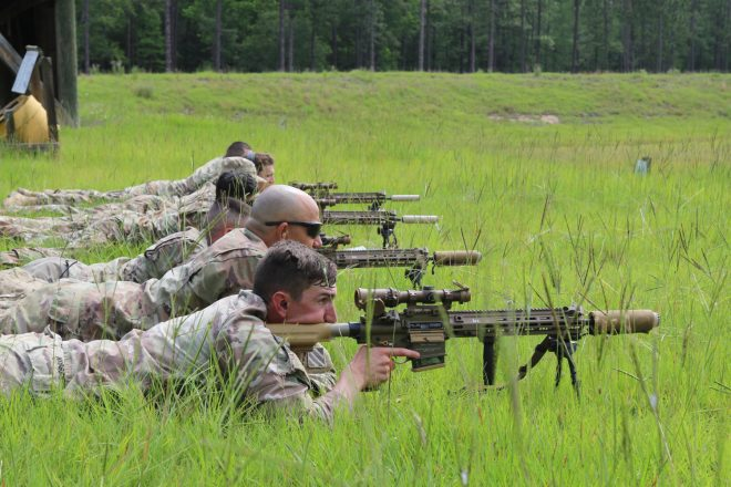 POTD: U.S. Army's New M110A1 Squad Designated Marksman Rifle