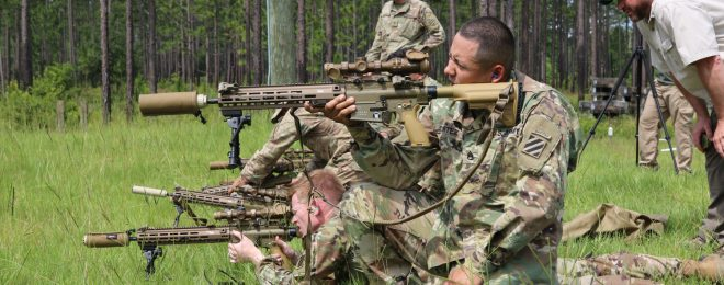 M110A1 Heckler & Koch US Army DMR