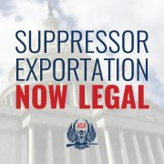 WINNING: ASA Announces That Suppressor Exports Are Now Legal
