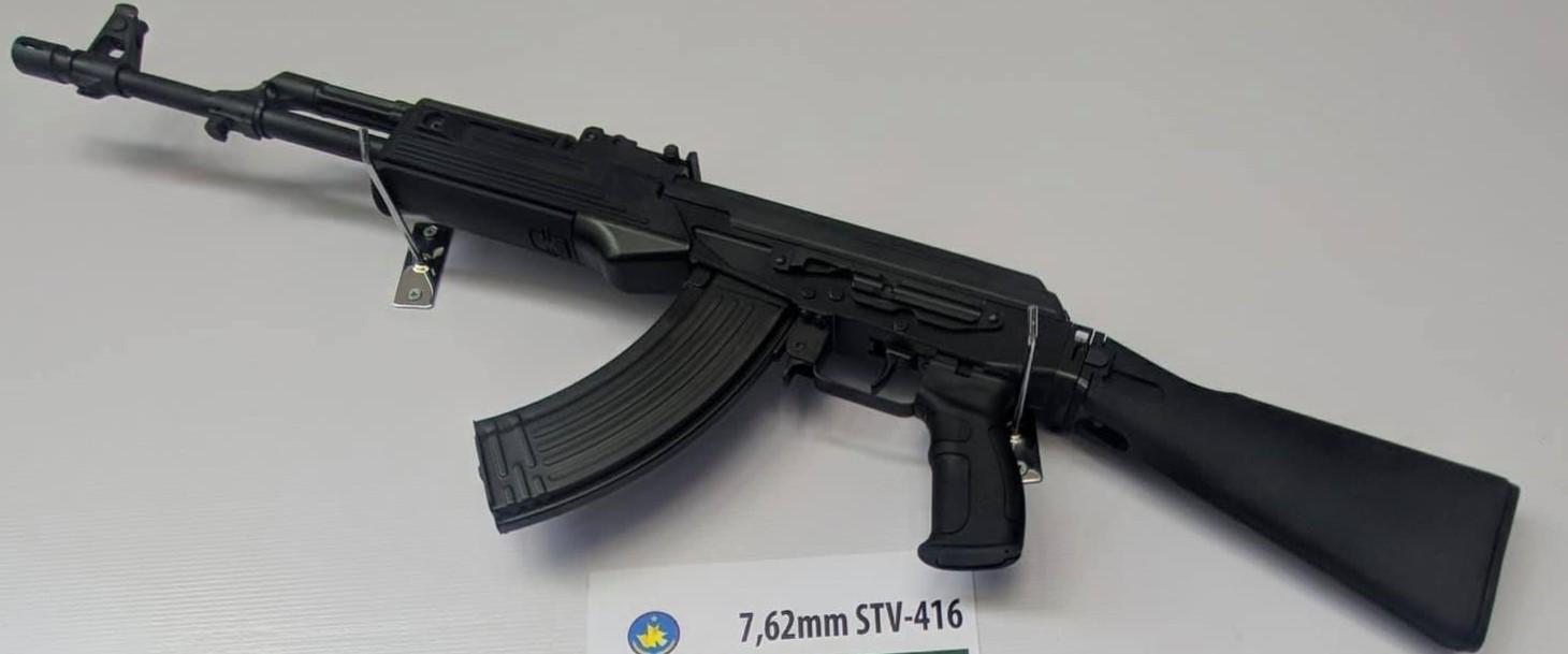 Vietnamese made STV-416 assault rifle