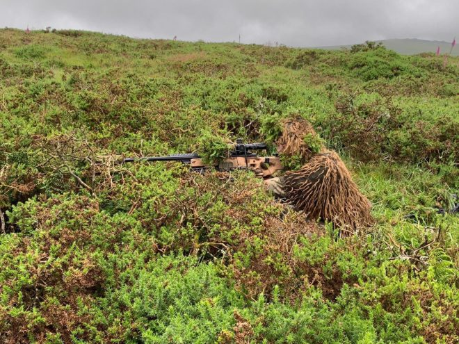 Royal marine sniper