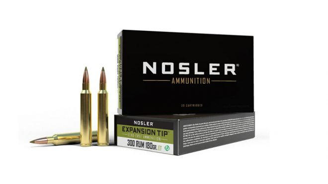 Changes and Transitions in NOSLER Ammunition Lines (1)