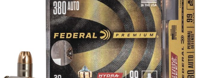 Federal Introduces their New Hydra-Shok Deep 380 ACP