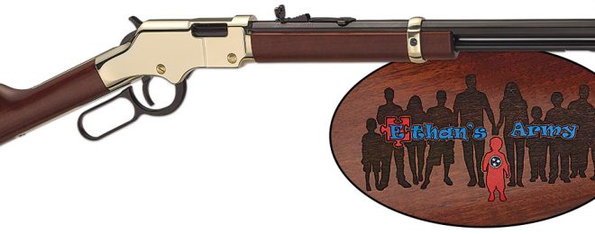 Henry Guns For Great Causes - Ethan's Army Rifle