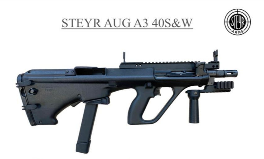 Sao Paulo Police Select the Steyr AUG SMG in .40 Caliber -The ...