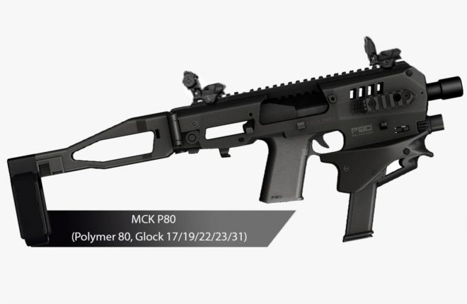 Introducing the New MCK P80 by CAA USA and Polymer80