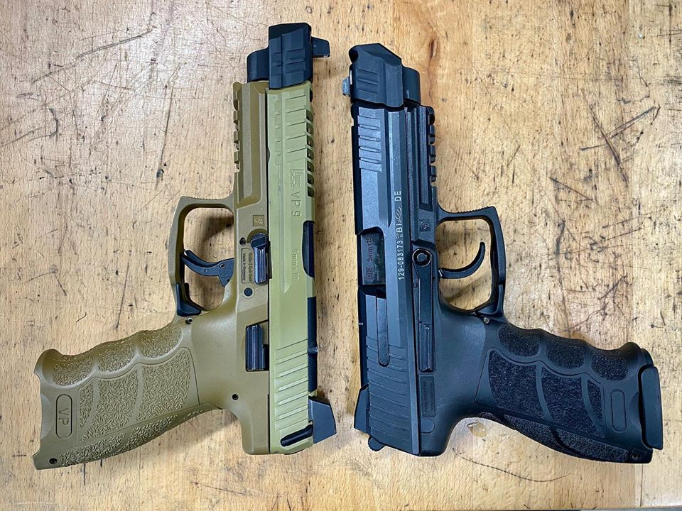 PMM Sight Tracker and Comp Tracker Muzzle Devices for H&K VP9 and P30 Pistols