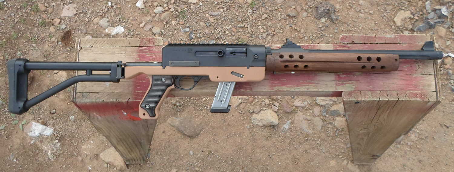 Homemade Ruger PC Carbine stock
