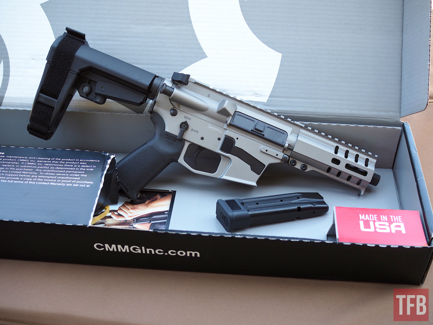 CMMG Mk17 as it comes in the box