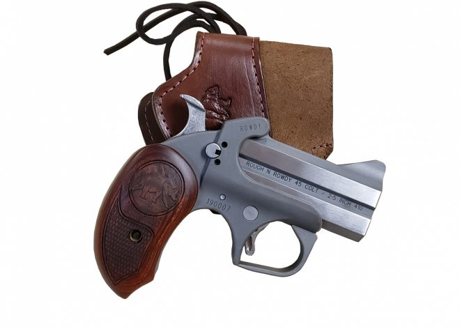 The New Bond Arms Grizzly 45LC and .410 Derringer Pistol