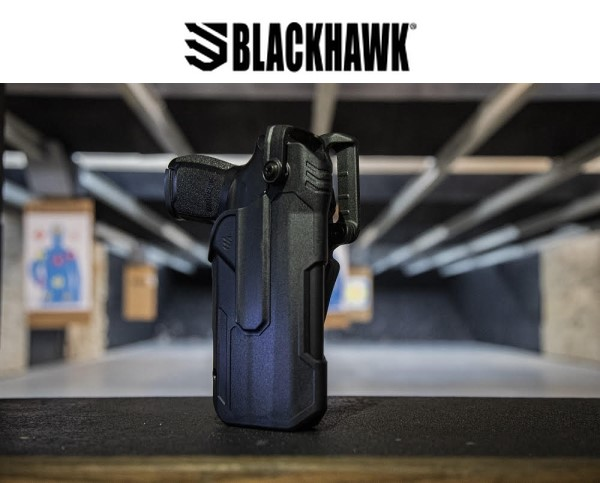 Blackhawk has added new light-bearing holster options for the Sig P320.