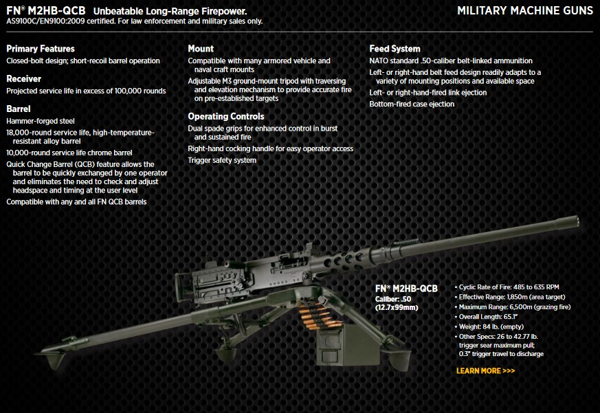 "FN's catalog gives details on the ""Ma Deuce""."